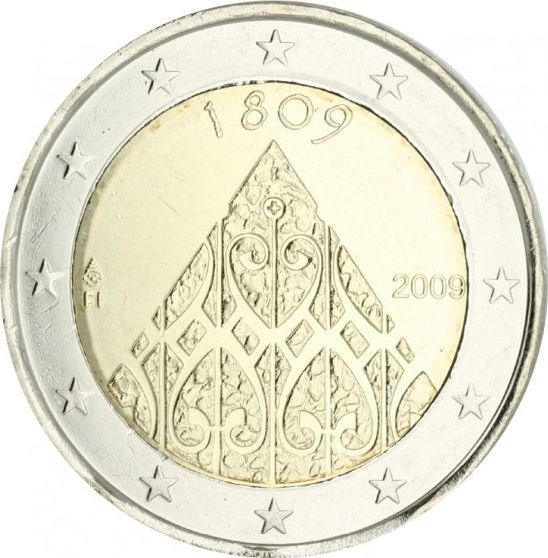 Malte 2 Euro Autonomie Finlandaise - 2009 - SPL