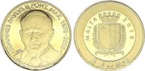 Malte 5 Euro Jean-Paul II - Or - 2015 - sans boite ni certificat