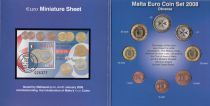 Malte Coffret BU Malte 2008 - 8 monnaies en euro