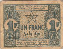 Maroc 1 Franc 1944 Ville de Fez - 1944