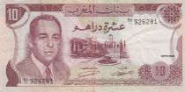 Maroc 10 Dirhams  Hassan II - 1970 - TTB + - P.57a - Séries variées