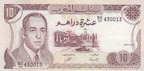 Maroc 10 Dirhams  Hassan II - 1985 - p.SUP - P.57b - Série BE/40