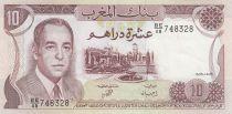 Maroc 10 Dirhams  Hassan II - 1985 - SUP - P.57b - Série BE/48