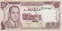 Maroc 10 Dirhams  Hassan II - 1985 - TTB - P.57b - Série BE/39