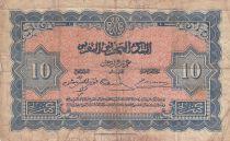 Maroc 10 Francs - 01-05-1943 - TB - Série D.293 - P.25a