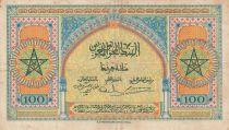 Maroc 100 Francs - 01-05-1943 - TTB - Série O.71 - P.27a