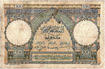 Maroc 100 Francs - Ksar d\'Aït-ben-haddou - 22-12-1952 - TB - Série O.56 - P.45