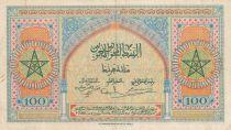 Maroc 100 Francs - Meknes -  1943 - TTB + - Série R.142 - P.27