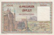 Maroc 1000 Francs La Koutoubia à Marrakech - 19-04-1951 - Série P.4 - SUP+ - P.47