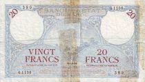 Maroc 20 Francs Minaret - 1931