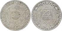 Maroc 20 Francs Mohammed V - 1347 H (1928) ESSAI