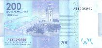 Maroc 200 Dirhams Mohamed VI - Phare de Tanger - 2012