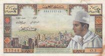 Maroc 5 Dirhams Mohammed V - 1960 - TTB - P.53a