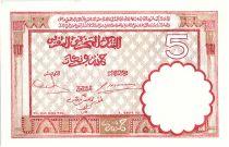 Maroc 5 Francs 14-11-1941 - SUP + - Série O.663 - P.23Ab