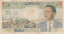 Maroc 50 Dirhams Hassan II - 1965 - TB - P.55a - Série C.3