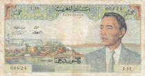 Maroc 50 Dirhams Hassan II - 1969 - TB - P.55e - Série J.11