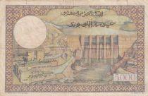 Maroc 50 Dirhams sur 5000 Francs surchargé  02-04-1953 - Série Y.441 - p.TB - P.51
