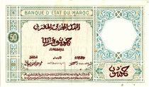 Maroc 50 Francs 01-08-1924  - TTB - Série B.148 - P.13