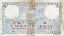 Marruecos 20 Francs Tower - 1931