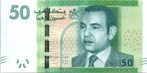 Marruecos 50 Dirhams Mohamed VI - Argania - 2012