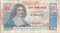 Martinique 10 Francs Colbert - 1946 Série Z.11