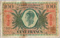 Martinique 100 Francs Marianne - 1944 - PU 542829