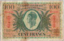 Martinique 100 Francs Marianne - 1944 - PU 542829