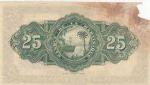 Martinique 25 Francs ND1943 - Woman seated with fruits - Serial E12