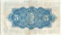 Martinique 5 Francs Liberté - 1942 - Spécimen - 1942
