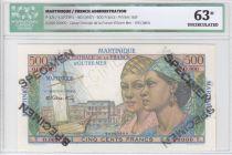 Martinique 500 Francs Pointe-À-Pitre - 1946