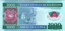 Mauritanie 1000 Ouguiya, Polymer - Dromadaire - 2014