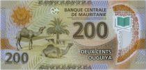 Mauritanie 200 Ouguiya  Chameaux - Mosquée - 28/11/2017