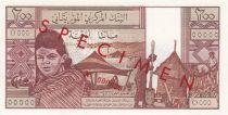 Mauritanie 200 Ouguiya 1973 - Jeune fille, scène de village - Spécimen