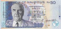 Maurizius 50 Rupees 2009 - J.M. Paturau, Hotel complex