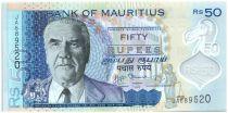 Maurizius 50 Rupees J.M. Paturau - Hôtel