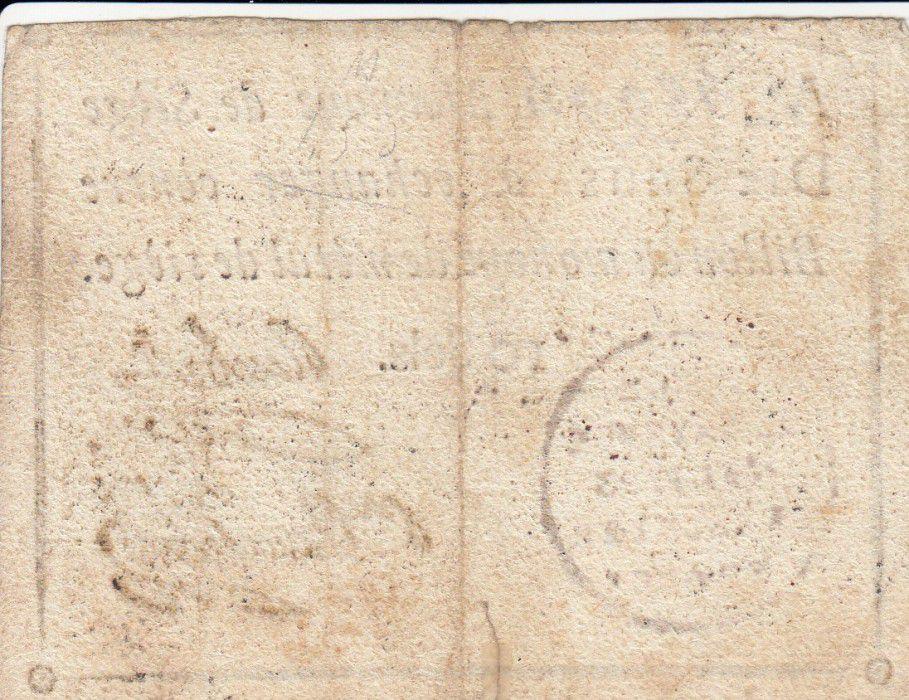 Mayence 10 Sols Noir - Tampon rouge - Mai 1793