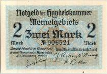 Memel 2 Mark  Ville de Memel en 1630 - 1922