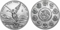Mexico 1 Once Libertad Silver - 1 Oz 2018