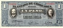 Mexico 1 Peso, Fransisco Madero - A gonzalez - 1914