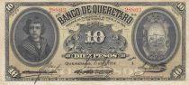 Mexico 10 Pesos Banco de Queretaro - 10-04-1914 - Serial a - S.391- F