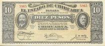 México 10 Pesos F.I. Madero and A. Gonzalez - 1915