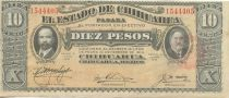 Mexico 10 Pesos F.I. Madero and A. Gonzalez