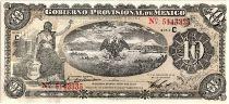 Mexico 10 Pesos Seated Liberty - Arms - 01/12/1914