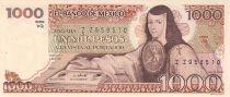 México 1000 Peso J. de Asbaje - Santo Domingo plaza