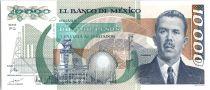México 10000 Pesos Cardenas - Coyolauhqui Stone - 1991