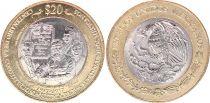 Mexico 20 Pesos - Bimetal - Constitution Centenary of 1917 - 2017