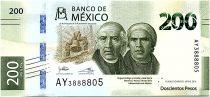 Mexico 200 Pesos - 25years of Autonomy - 2019 UNC