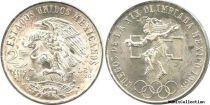Mexico 25 Pesos National arms - Mexico Olympics Games 1968