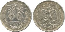 Mexico 50 Centavos Eagle and snake