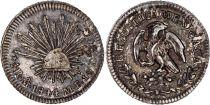 Mexique 1/2 Real Emblème national - 1844 MO MF Mexico